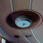 Observation Lounge ceiling
