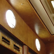 Ceiling of Cabin Class Lounge