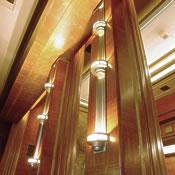 The Cabin Class Restaurant columns
