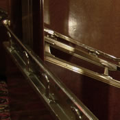 Cabin class staircase